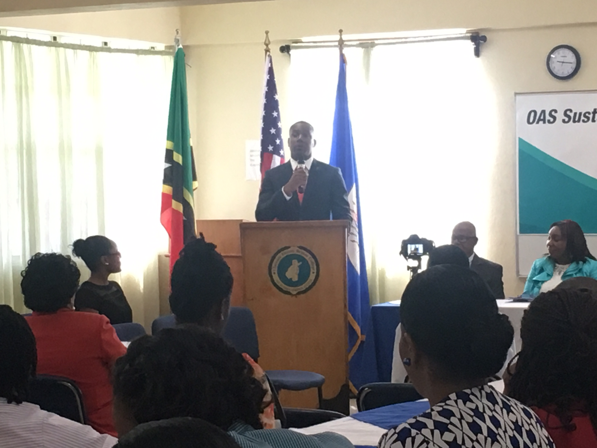 OAS Thirteenth Sustainable Cities Course Opening Ceremony - May 31, 2017 - Hosted by the Clarence Fitzroy Bryant College - St Kitts and Nevis