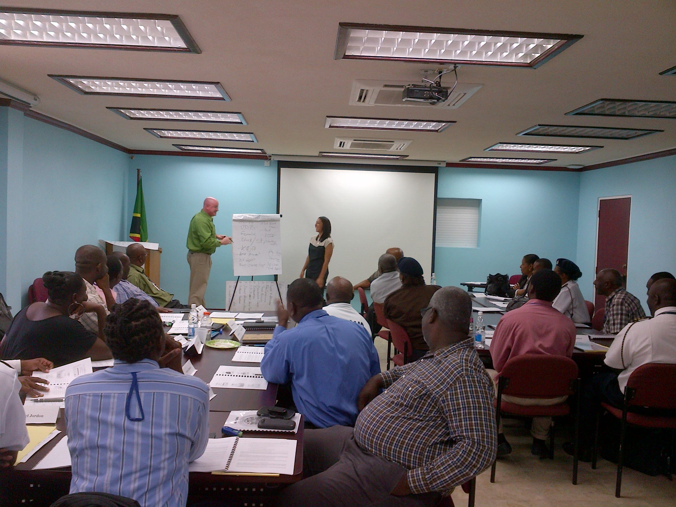 Security Partners support Access Control Course in St. Kitts and Nevis