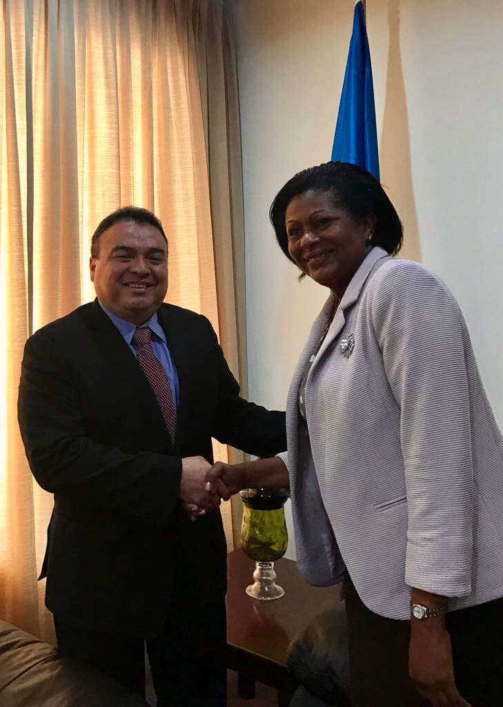 OAS-ASG Mendez meets Minister for External Affairs