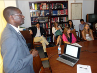 Judge from Senegal Visits IACHR