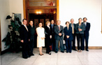 During a 2004 visit to Guatemala, Rapporteur Susana Villarán and the IACHR delegation met with Guatemalan Vice President Eduardo Stein and other government representatives.