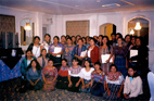 Guatemala, September 2004. Rapporteur Susana Villarán and a delegation of the IACHR Executive Secretariat—composed of specialist attorneys Elizabeth Abi-Mershed, Isabel Madariaga, and María Claudia Pulido—offered a Training Workshop for Indigenous Women Leaders.