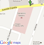 OAS Office in Paraguay - by Google maps
