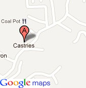 OAS Office in Saint Lucia - by Google maps