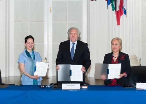 OEA y Rotarios de Centroámerica y EEUU ayudarán a migrantes y jóvenes
