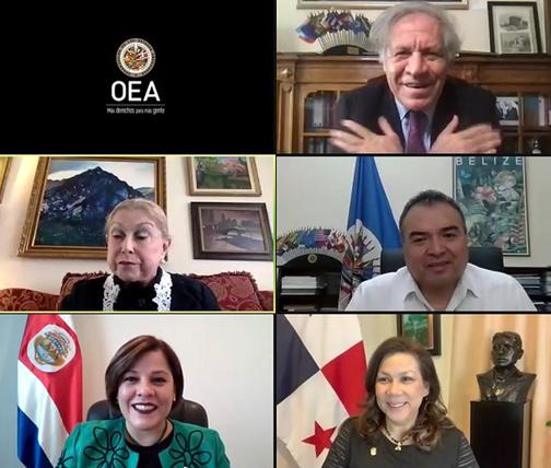 Nueva Representante de Costa Rica presenta credenciales